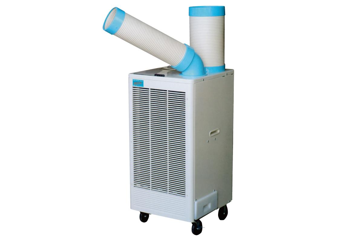 排熱ダクト付きスポットクーラー